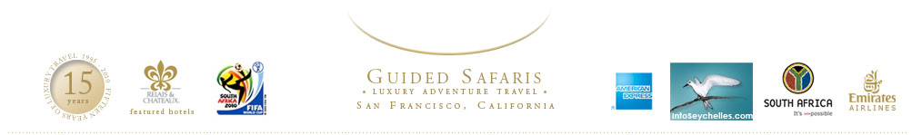 Guided Safaris, Inc of San Francisco, CA