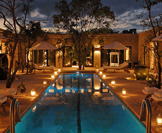 Pool at Royal Malewane Safari Lodge