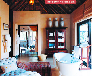 Bath at Royal Malewane Safari Lodge